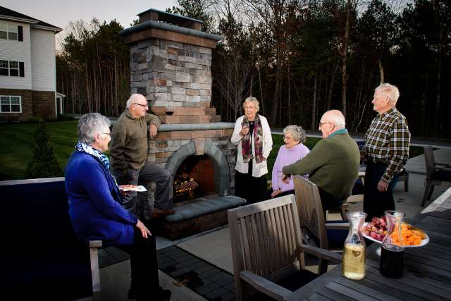 Summit At Saratoga Fire Pit