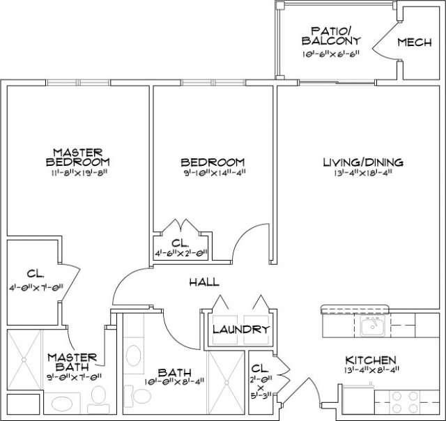 Summit Mill Hill Helderberg Floor Plan Diagram
